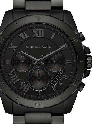 Michael Kors MK8482 Men's Brecken Black Watch