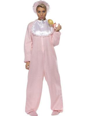 Damen Riesen Baby Overall & Lätzchen & Quietsche Schnuller Junggesellenabschied (Riesen Baby Kostüme)