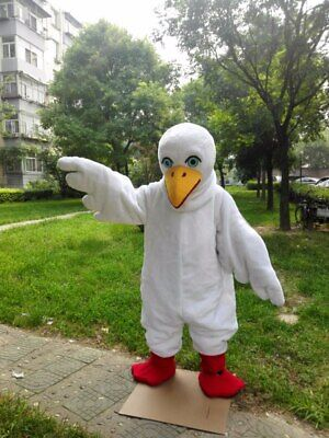 Pigeon Mascot Costume Suit Cosplay Party Game Dress Outfit Advertising Halloween