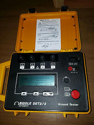 Biddlemegger Det22 Earth Ground Tester