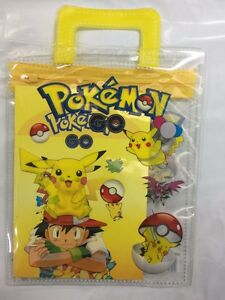 Pokemon Go Pikachu Pencil Case With Accessories Poke US Seller New