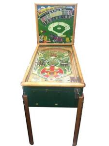 United Major League Baseball Pinball Arcade Machine Lot 1643