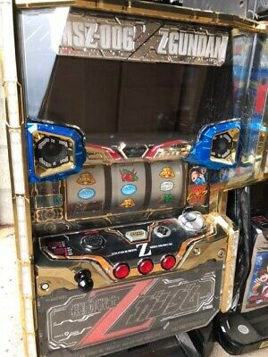 Gundam Arcade Slots Japanese Pachislo Pachinko Game Machine Hobby Working