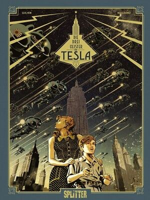 Die drei Geister von Tesla 1  Splitter Verlag