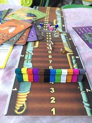 Board Game Dixit Game Accessories Including Wooden Bunnies Voting Cards Holes