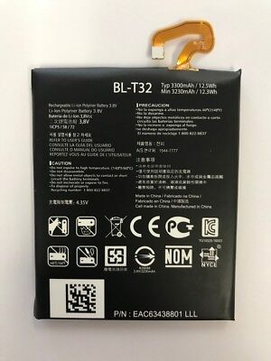LOT OF 100 NEW BATTERY FOR LG G6 H871 VS988 LS993 H870 US997 BL-T32 3300MAH