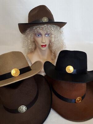 KarnevalsTeufel Cowboyhut 2. Wahl Sheriff Westernhut Fasching Karneval - Sheriff Hut