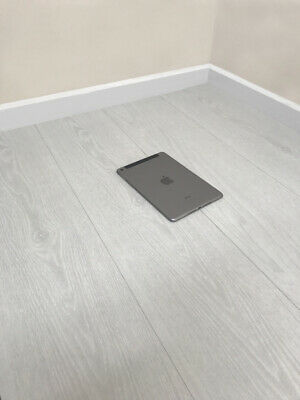 8mm Modern White Laminate Wood Flooring - Click System - V Groove - High Quality