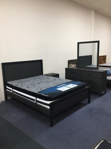 Parris Solid Bed, Chest Drawer, Bedside,  bed set Malaysia Made