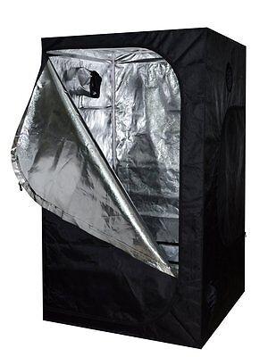 NEW 120X120X200 Silver Grow Tent Bud Dark Green Room Hydroponics Box Mylar