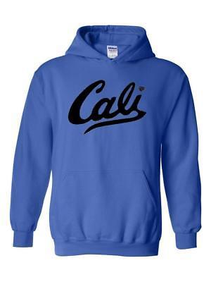 California Hoodie California Cali in Black Unisex Hoodies Sweater
