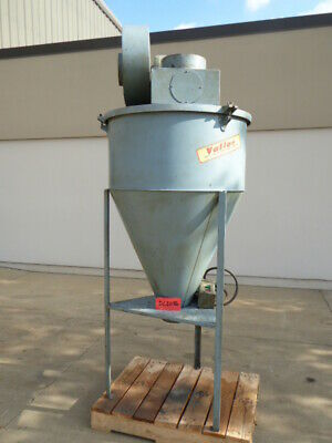 Used Dust Collector - Vallas Cyclone Dust Collector-Dust Collectors
