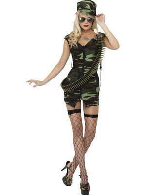 Fever Combat Girl Costume Medium - Combat Girl Kostüme