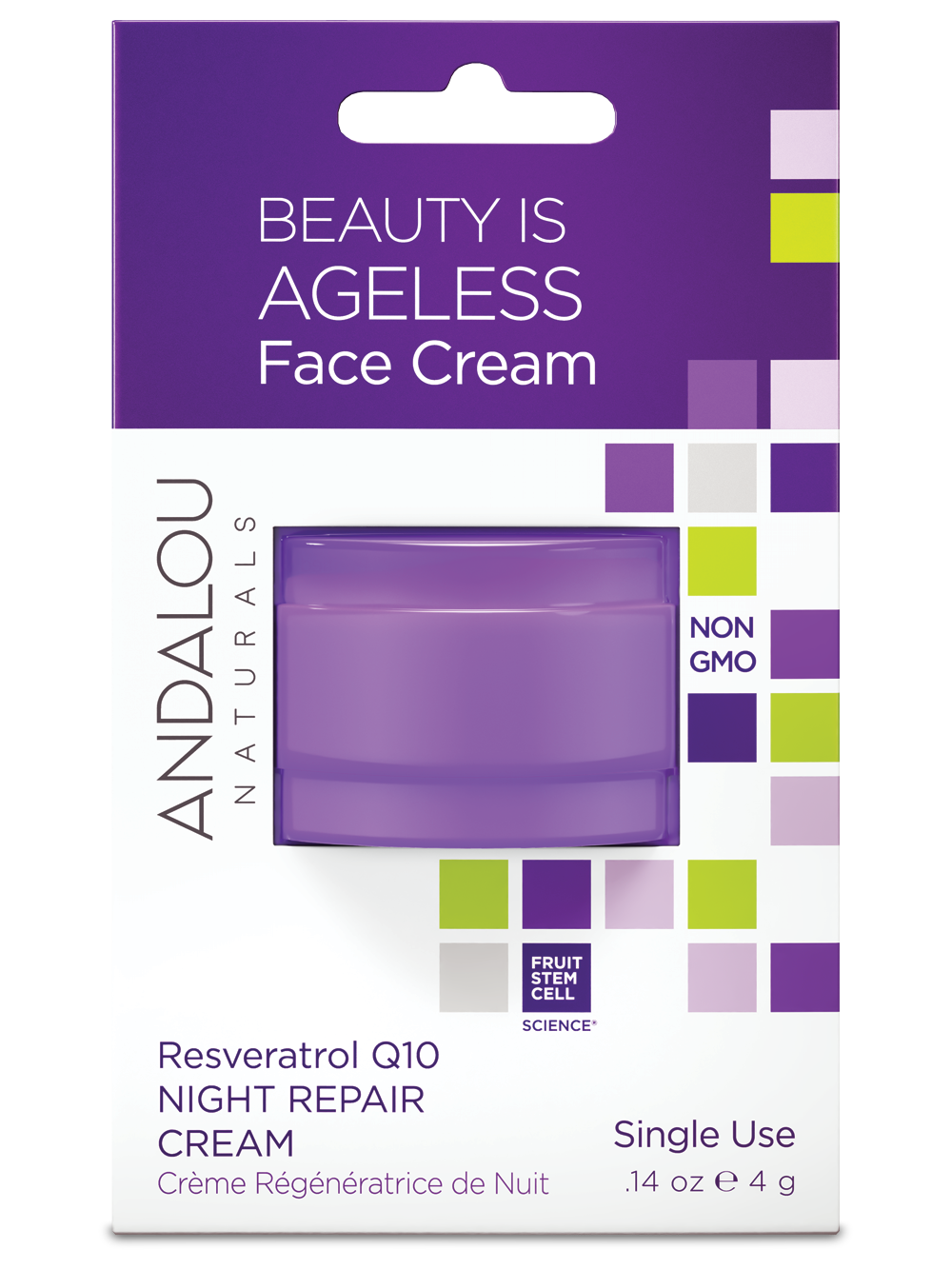 Andalou Naturals Face Cream Pods - Buy One Get One Free