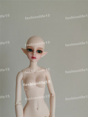 1/6 Bjd Doll Girl asia Free Face Make UP+Eyes-human body