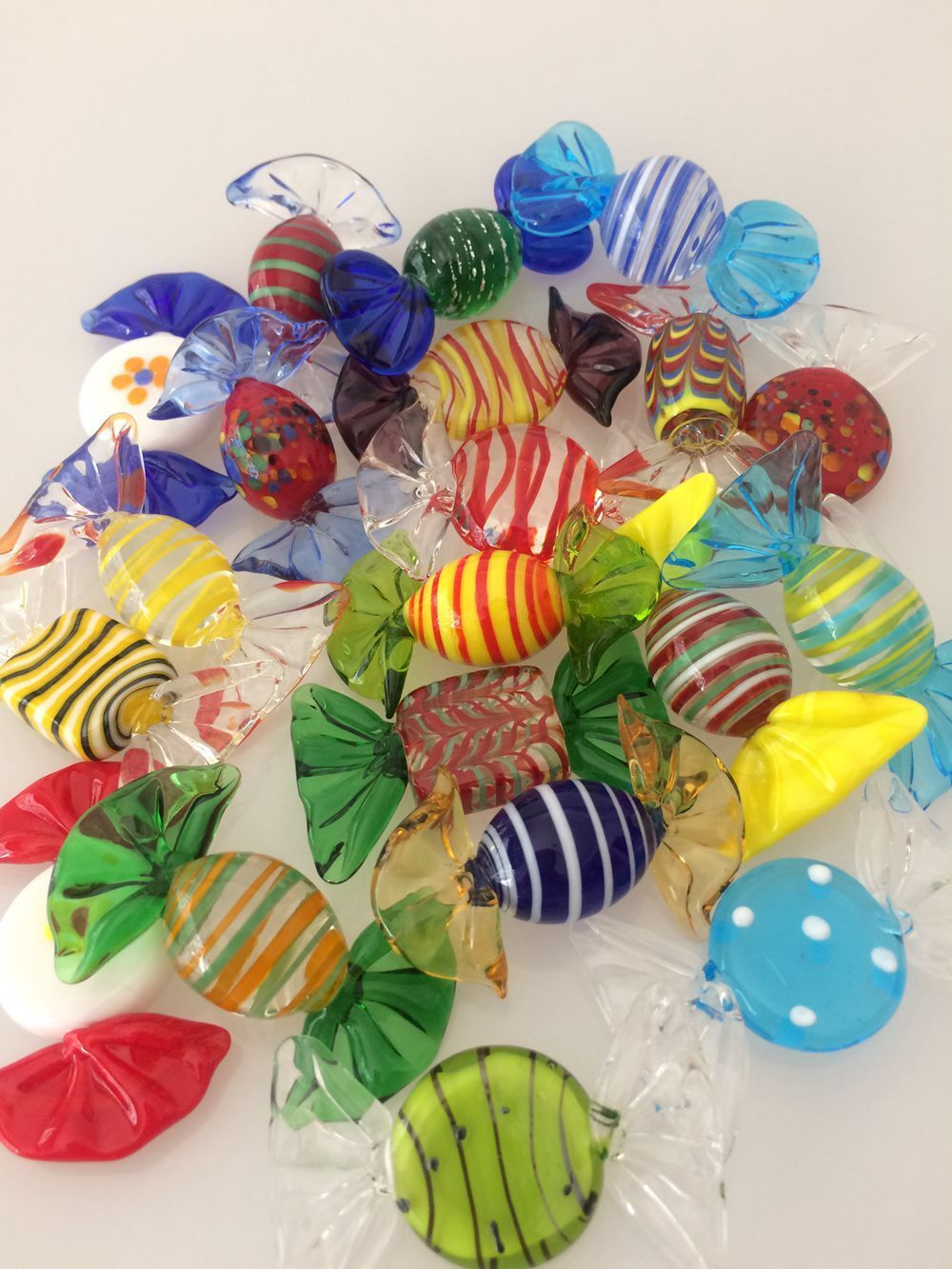20pcs Vintage Murano Glass Sweets Wedding Xmas Party Candy