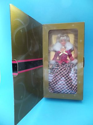 BARBIE an AVON EXCLUSIVE SPECIAL EDITON Winter Rhapsody Blonde Doll Boxed Mattel