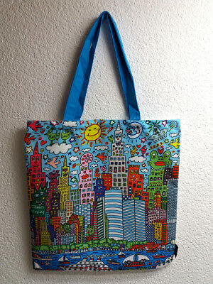 New York City Bag (Art Shopping Bag James Rizzi My New York City Tasche Beutel NEUHEIT 2017 neu)