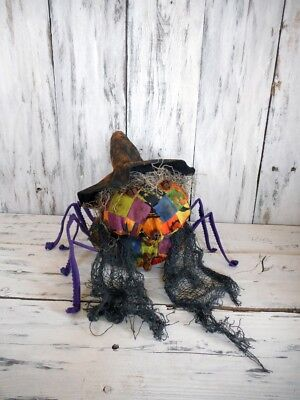 Primitive/ Halloween/ Grungy / Witches / Spider / Pattern/ DIY/ Craft