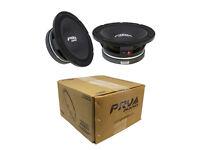2X PRV Audio 10MR1000X 10 Sub Woofer Pro Audio Bass Speaker 2000W 8 Ohm