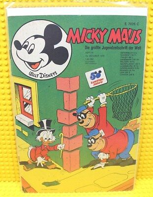 Walt Disney® Micky Maus Nr 41 von 1973 mit Gutschein und Sammelbild