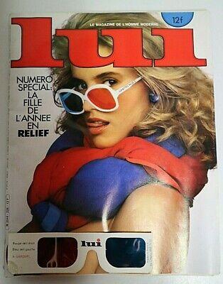 """REVUE """" LUI """" Numéro Special (LA FILLE DE L'ANNEE EN RELIEF) Janvier 1983"""