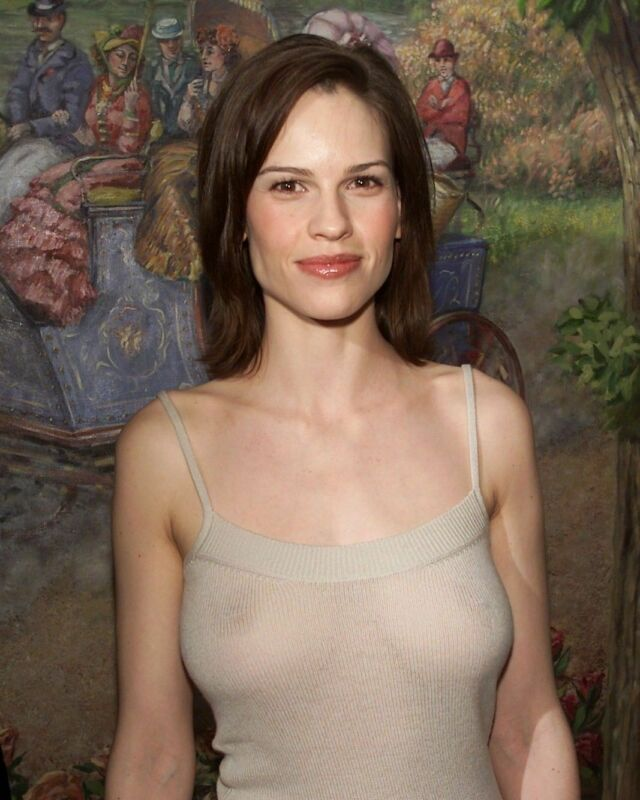 Hilary Swank Transparency 8x10 Picture Celebrity Print