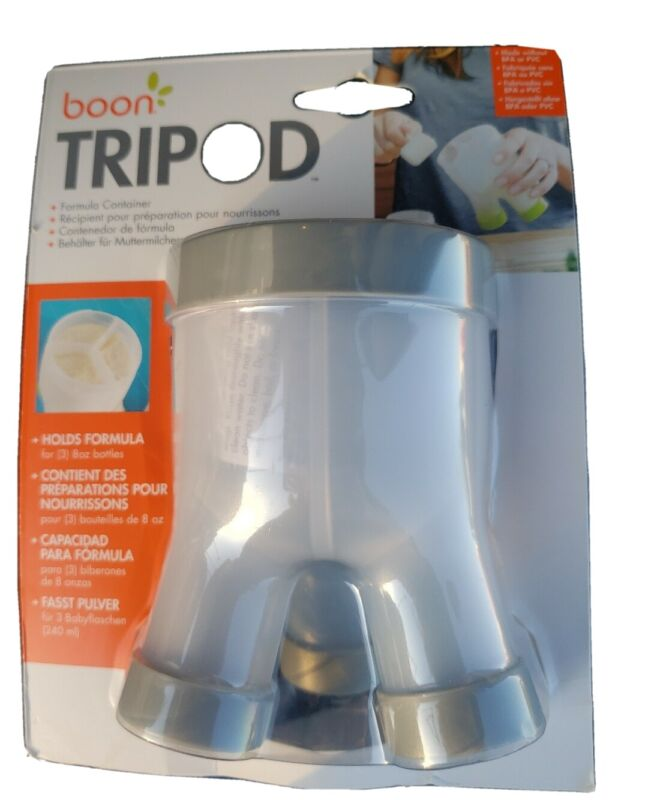 Baby formula travel container EASY to use Boon Tripod Formula Container  New