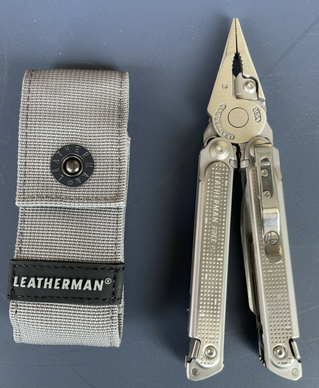 Leatherman 832637 Free P2 19 In 1 Multi Tool Comes With Nylon Sheath