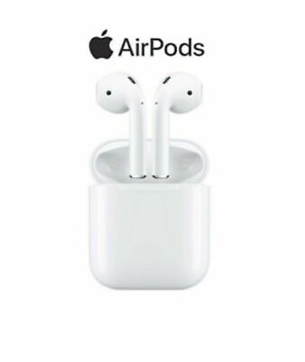 Apple Airpods 2nd Generation Bluetooth Earbud Earphones Headset W/ Charging Case