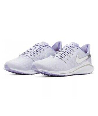 Nike Air Zoom Vomero 14 Ladies TRAINERS UK 5.5 Lilac AH7858 500 Genuine