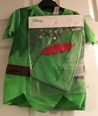 BNWT PETER PAN OUTFIT FANCY DRESS UP AGE - Peter Pan Dress Up Kostüme