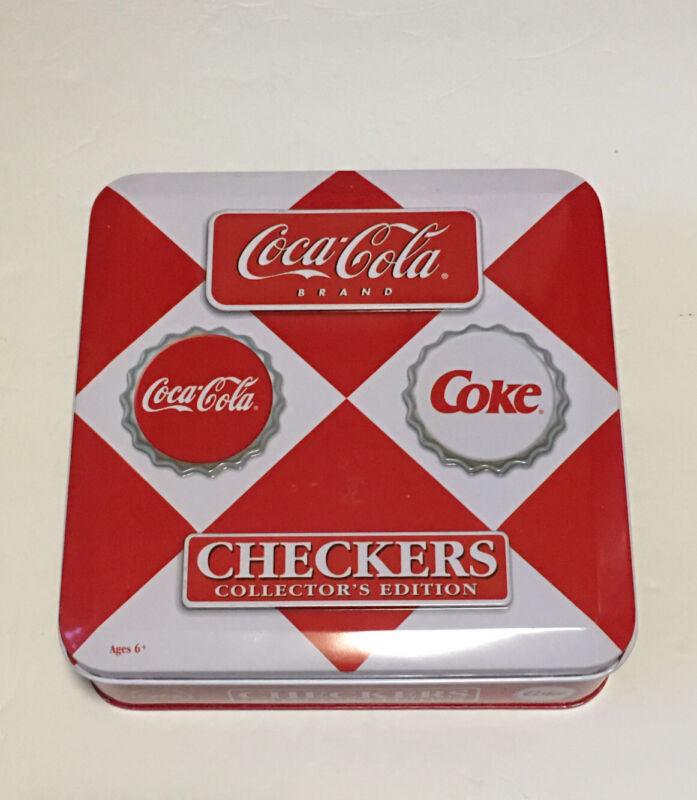 COCA-COLA COKE Checkers Collector