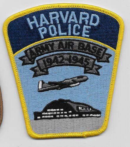 Harvard Police State Nebraska Army Air Base 1942-1945 NEAT NE