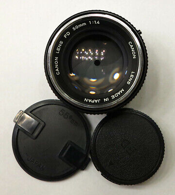 ✅Serviced✅ Canon FD Chrome Nose 50mm f1.4 Fast Prime Lens Sony Olympus 253099