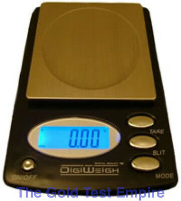 DigiWeigh 100ax Digital Pocket Scale 100 X .01 And Calibr...
