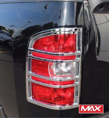 TLCH180 - 2007 Chevrolet Silverado 1500/2500/3500 Taillight Chrome Trim Covers