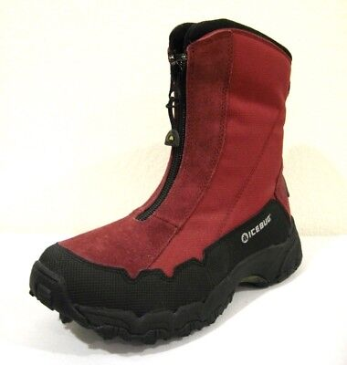 Icebug Ivalo-L BUGrip Red Boots Studded Size 5.5