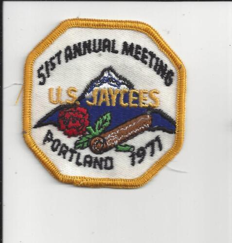 PATCH 51st ANNUAL MEETING U.S. JAYCEES PORTLAND OREGON 1971