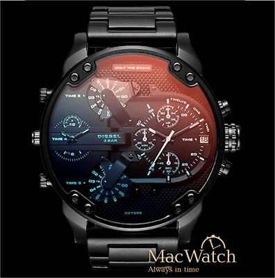 Diesel Herren Uhr DZ7395 Mr. Daddy 2.0  Ø57mm NEU OVP