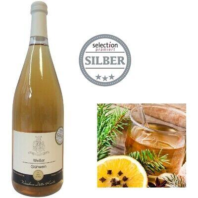 Weißer Winzerglühwein Weinhaus Dieter Kuntz Glühwein weiß SILBER 2020***