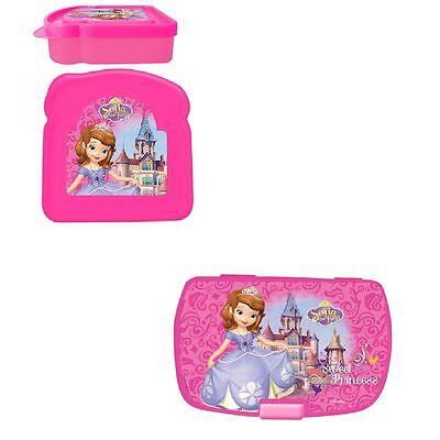 Lunchbox Brotdose Brotbox Disney Princesa Sofia 2 verschiedene Modelle verfügbar