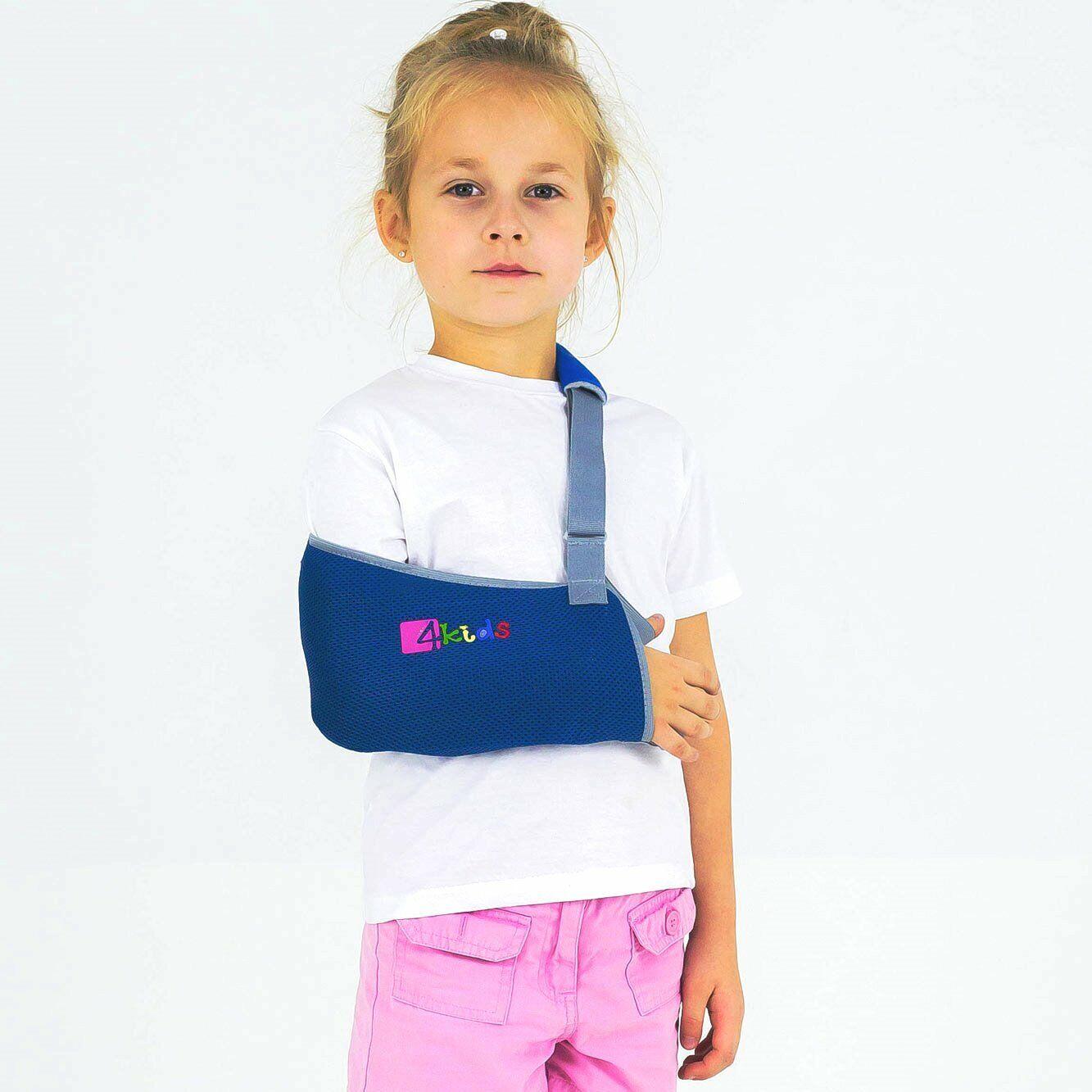 Armschlinge Armtragegurt Armbandage Gipsverband Armorthese für Kind