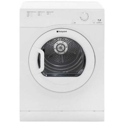 Hotpoint TVFM70BGP Aquarius B Rated 7Kg Vented Tumble Dryer White
