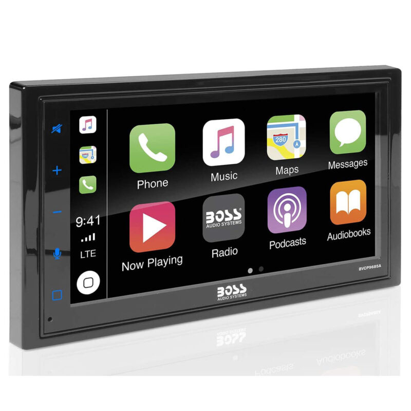 BOSS Audio BVCP9685A Double DIN Bluetooth Touchscreen Vehicle Multimedia Player