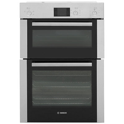 Bosch HBM13B251B Serie 6 Built In Electric Double Oven 60cm Double Cavity