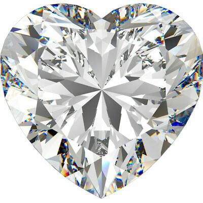 1.02 CT. Heart Shape Diamond. Certified by GIA.