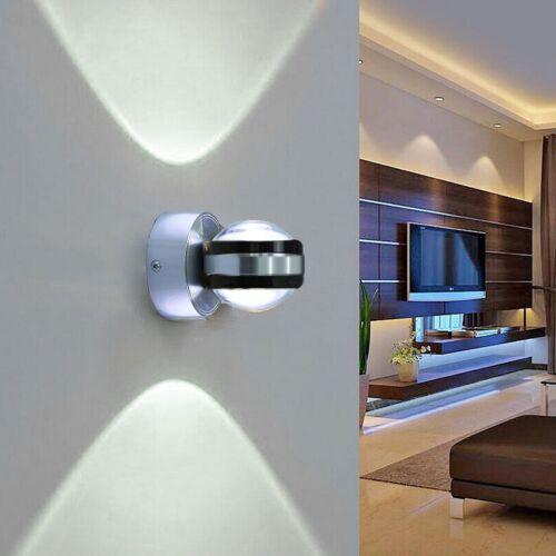 LED Solarleuchte Wandlampe Wandleuchte Außen Innen Flurleuchte Treppen Leuchte