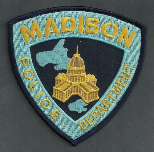 MADISON WISCONSIN POLICE SHOULDER PATCH STATE CAPITAL