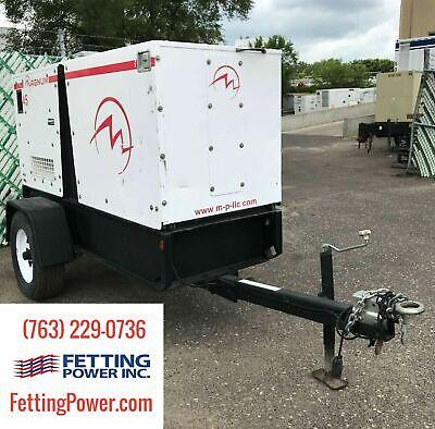 33kw Magnum Power Mobile Diesel Generator Mmg45 Sn 1215089